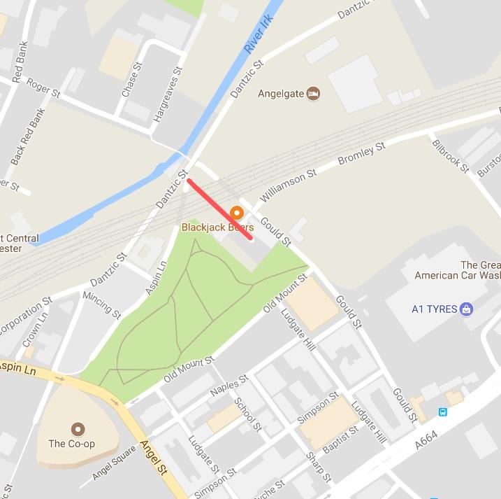 Irk Street Road Closure